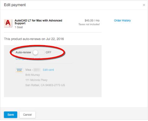 Cancel Autodesk step 4